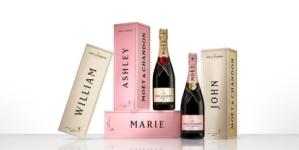 Moët & Chandon San Valentino 2021: Specially Yours, l'edizione limitata di cofanetti personalizzati