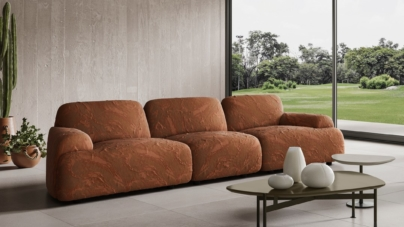 Natuzzi nuova collezione 2021: il divano Buddie e il sistema Ika by Mauro Lipparini
