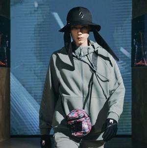 Spyder autunno inverno 2021: tinte fluo e linee geometriche, tutti i look