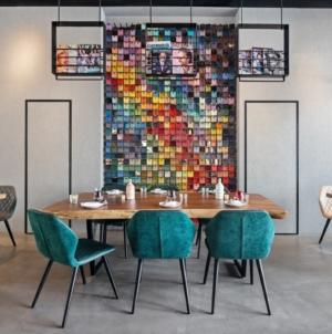 Studio One Hotel Dubai: le sedute Ava di Bross per il quattro stelle dall'interior fortemente decorativo
