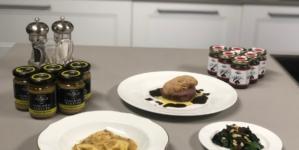 Urbani Tartufi nuove ricette: ravioli di patate e timo e filetto di manzo
