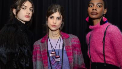 Beauty look Emporio Armani autunno inverno 2021: il make up by Linda Cantello