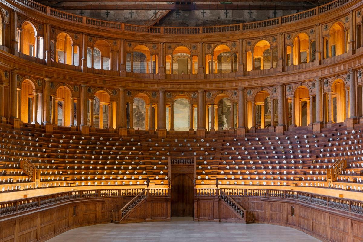 Fornasetti Theatrum Mundi Parma