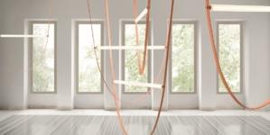 Lampada Wireline Flos: creazione artistica e design industriale by Formafantasma