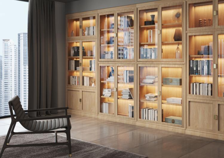 Librerie modulari in legno