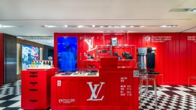 Louis Vuitton pop-up La Rinascente Milano: gli allegri container colorati della collezione maschile