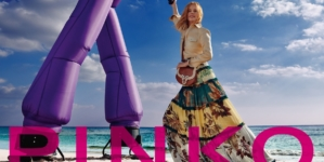 Pinko campagna primavera estate 2021: ballare e divertirsi con Peter Dance