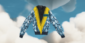 Prada Time Capsule Febbraio 2021: la maglia con dettagli modernisti legati al mondo sportivo