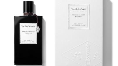 Van Cleef & Arpels profumo Orchid Leather: la prima fragranza con accenti di cuoio