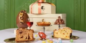 Giacomo Milano Pasqua 2021: le colombe della tradizione e le eleganti uova decorate