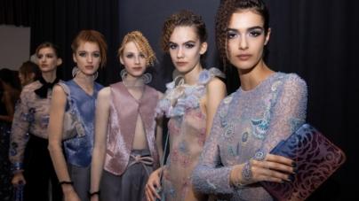Giorgio Armani beauty look autunno inverno 2021: il glamour moderno