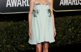 BEVERLY HILLS, CALIFORNIA: 78th Annual GOLDEN GLOBE AWARDS -- Pictured: Kristen Wiig attends the 78th Annual Golden Globe Awards held at The Beverly Hilton and broadcast on February 28, 2021 in Beverly Hills, California. -- (Photo by Todd Williamson/NBC/NBCU Photo Bank via Getty Images)