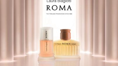 Laura Biagiotti profumo Roma: la nuova campagna pubblicitaria per l'iconica fragranza