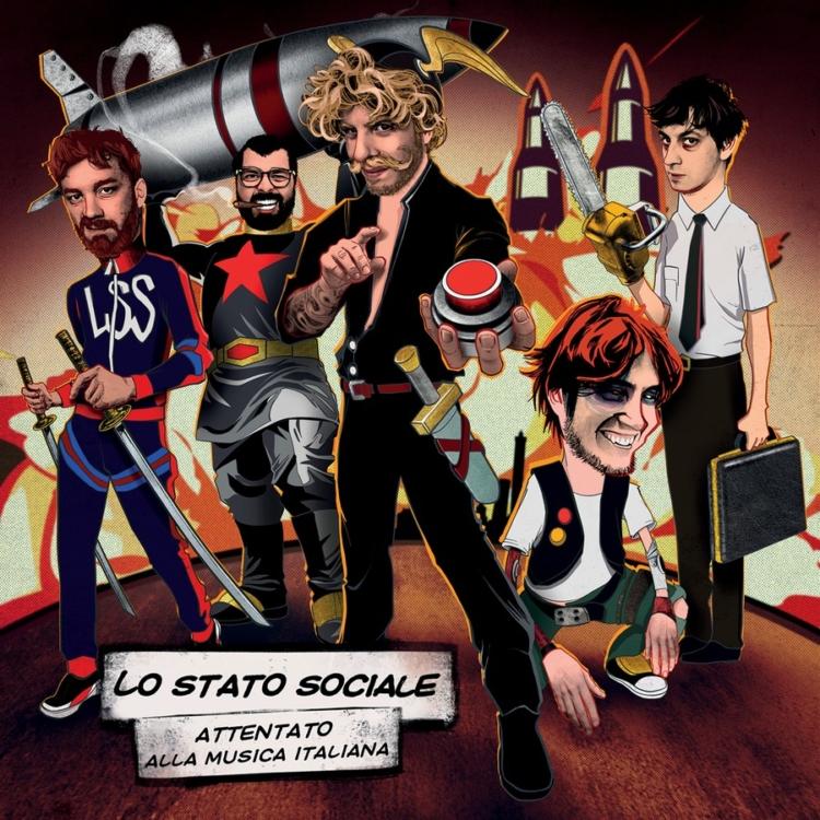 Lo Stato Sociale Attentato alla Musica Italiana