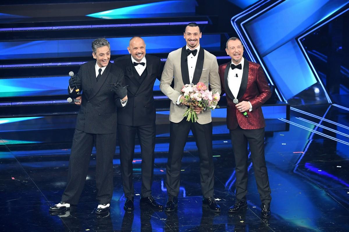 Sanremo 2021 look terza serata