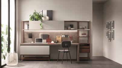 Scavolini sistema casa Formalia: il nuovo progetto di cucina e living firmato Vittore Niolu
