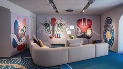 Cappellini design novità 2021: lo speciale allestimento Amor Fati di Elena Salmistraro
