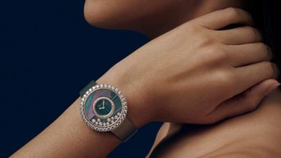 Chopard Happy Diamonds Joaillerie: il nuovo orologio gioiello, una cascata di diamanti