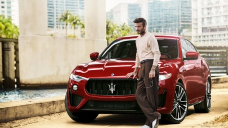 David Beckham Maserati: il nuovo global ambassador, il video