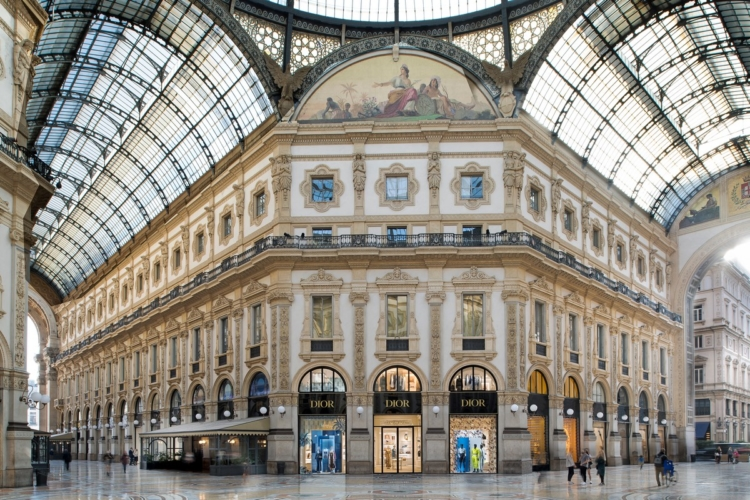 Dior Milano Galleria Vittorio Emanuele II