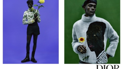 Dior Uomo campagna primavera estate 2021: gli scatti ispirati ai ritratti del pittore Amoako Boafo