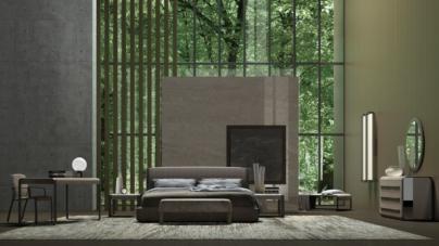 Gianfranco Ferrè Home The Warm Suite 2021: la linea Wynwood per la zona notte e il working space