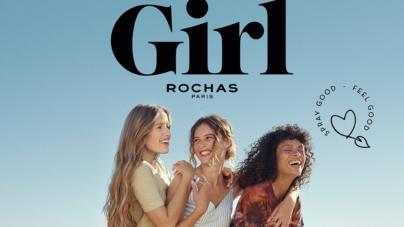 Girl Rochas fragranza eau de toilette: il primo profumo100% Feel Good, la campagna
