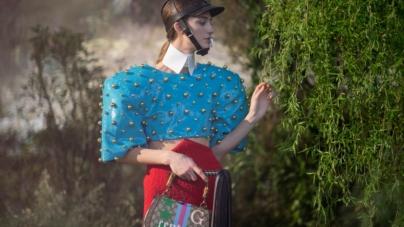 """Gucci Aria sfilata 2021: il glamour moderno di Balenciaga e la """"cosmogonia fetish"""", tutti i look"""