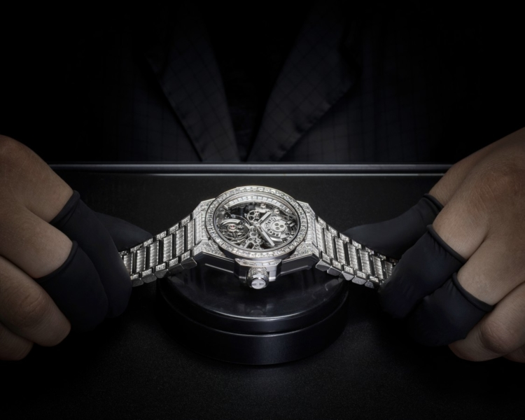 Hublot Big Bang Integral Tourbillon High Jewellery
