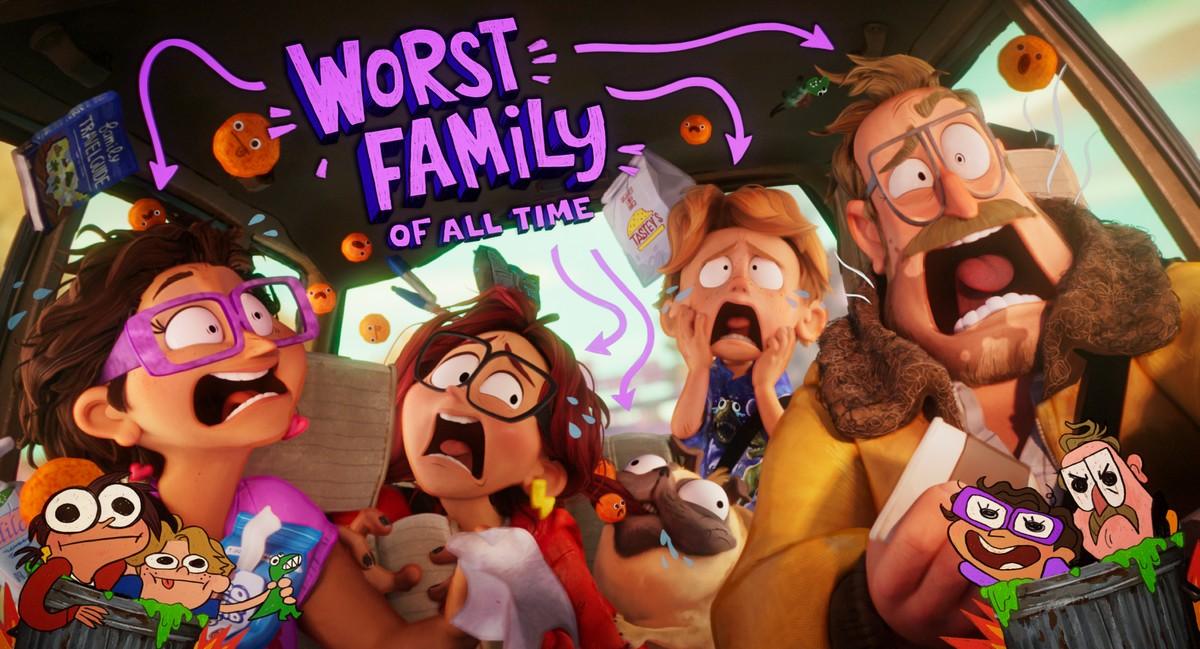 I Mitchell contro le macchine Netflix: la nuova divertente commedia d'animazione
