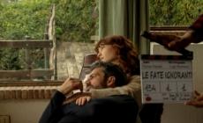 Le Fate Ignoranti serie tv: protagonisti Cristiana Capotondi ed Eduardo Scarpetta, il primo ciak