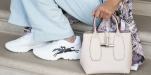 Longchamp sneakers primavera estate 2021: Freeminder e Le Pliage