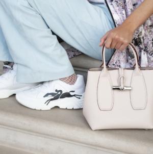 Longchamp sneakers primavera estate 2021: Freeminder e Le Pliage