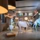 Milano Design City 2021 Foscarini: animali-origami nel nuovo allestimento firmato da Ferruccio Laviani