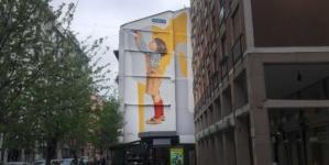 """Murales Milano 2021 Street Art In Store Fineco: il nuovo art wall """"Uno Sguardo Al Futuro"""""""