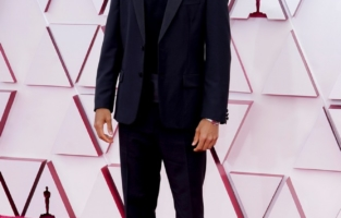 LOS ANGELES, CALIFORNIA – APRIL 25: Riz Ahmed attends the 93rd Annual Academy Awards at Union Station on April 25, 2021 in Los Angeles, California. (Photo by Chris Pizzello-Pool/Getty Images)