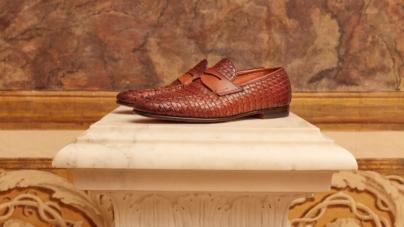 Santoni scarpe primavera estate 2021: il fashion film Origini e la capsule collection Galleria.01