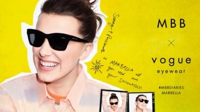 Vogue Eyewear Millie Bobby Brown 2021: la nuova campagna #MBBDiaries