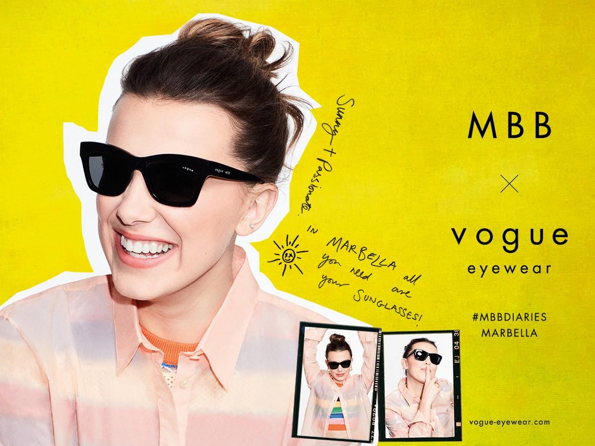 Vogue Eyewear Millie Bobby Brown 2021