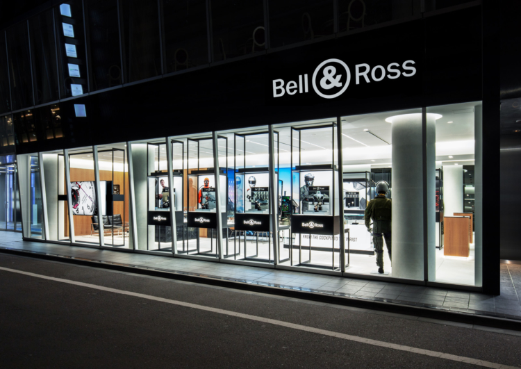 Bell and Ross boutique Tokyo