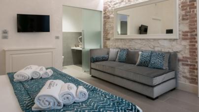 Caportigia Boutique Hotel Siracusa: le eleganti placche Eikon di Vimar