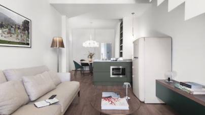 Cavour 82 Firenze Pierattelli Architetture: spazi fluidi, ambienti permeabili e segni cromatici
