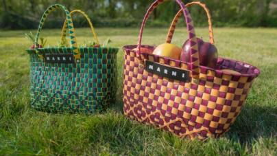 Collezione Marni Market Goes Around: borse e complementi di arredo in edizione limitata
