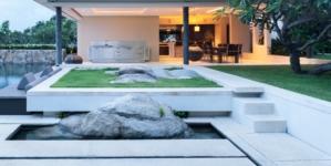Cucine moderne da esterno Abimis: Ego e Atelier, due configurazioni per cucinare all'aperto