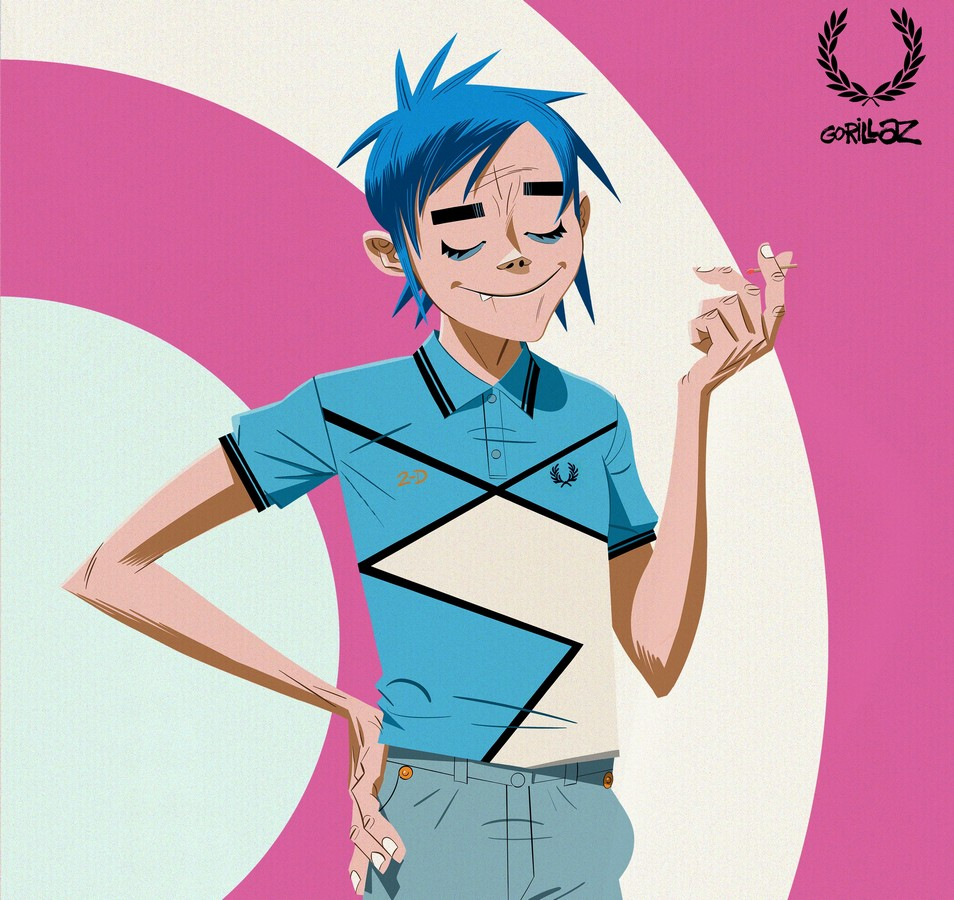 Fred Perry Gorillaz capsule 2021