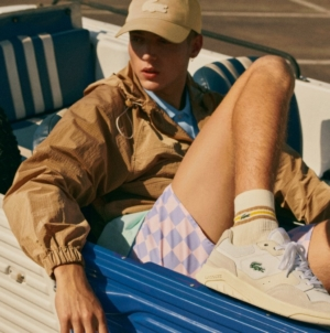 Lacoste sneakers primavera estate 2021: Game Advance Luxe, look sportivo e fashion