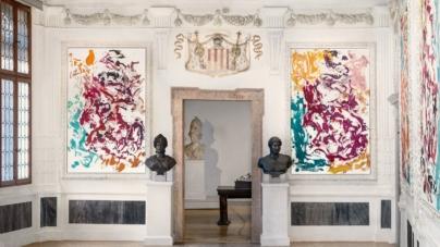 Palazzo Grimani Venezia mostra Archinto: i nuovi dipinti e sculture di Georg Baselitz