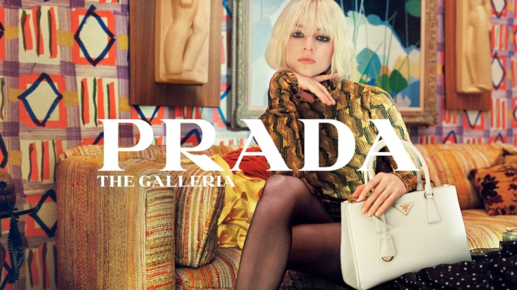 Prada borsa The Galleria