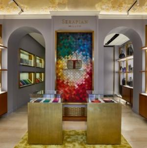 Serapian Via del Babuino Roma: il reopening della boutique nel cuore della Capitale