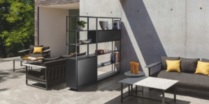 Talenti Outdoor cucina Tikal 2021: nuovi moduli raffinati ed essenziali